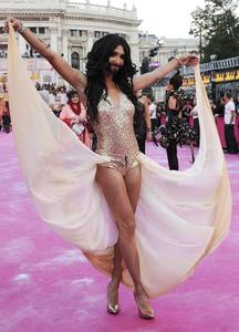 Winner of Eurovision 2014 Conchita Wurst