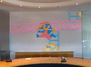 """Stop Motion de Pac-Man, Donkey Kong, Mega Man, Zelda e outros, feito com """"post-it"""""""