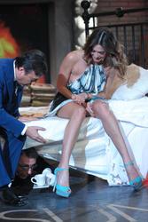 Мелисса Сатта, фото 344. Melissa Satta Chiambretti Sunday Show in Italy, 18.02.2012, foto 344