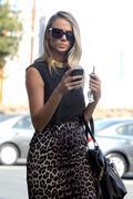 Стейси Кейблер, фото 2956. Stacy Keibler out in LA FEB-28-2012, foto 2956